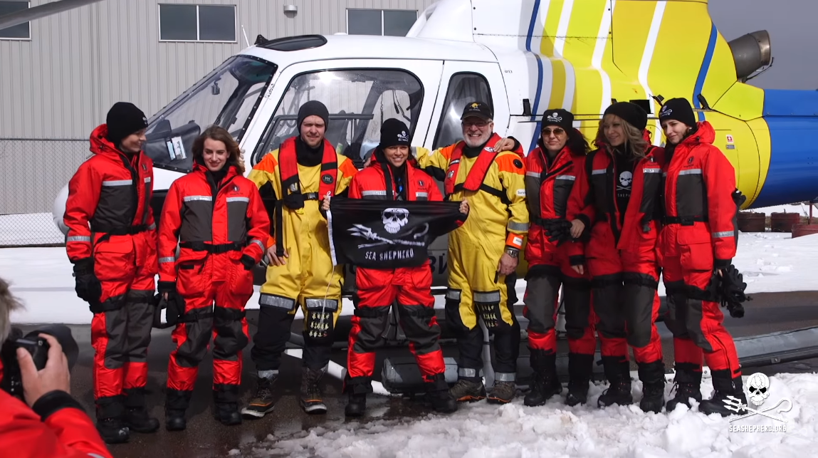 Team Award Force supports Sea Shepherd