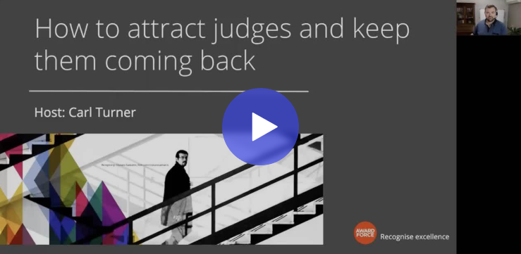 Watch: How to attract and retain judges to your recognition program