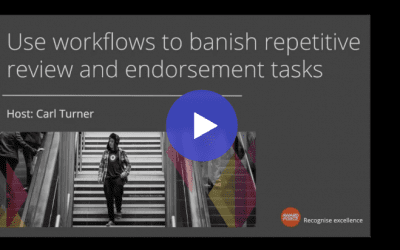 Watch: Use workflows to banish repetitive review and endorsement tasks