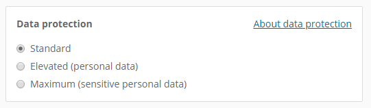Personal data constent