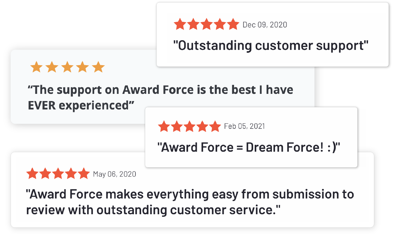 Review on awards management software