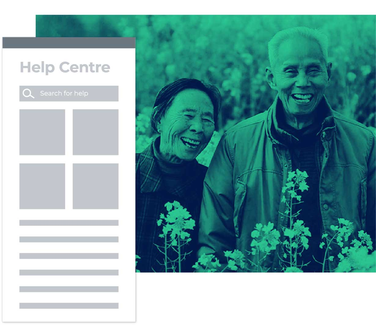 Easy access to web centre