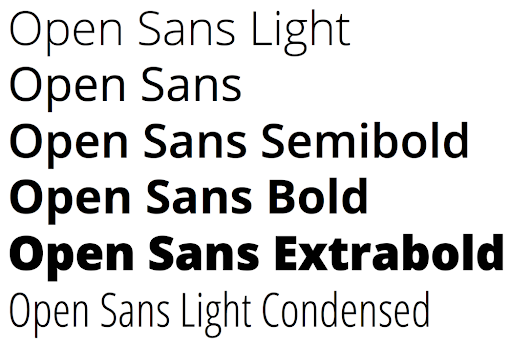 Consistent fonts for accessibility