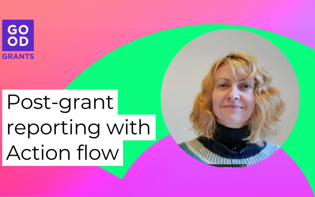 Post-grant reporting with Action flow