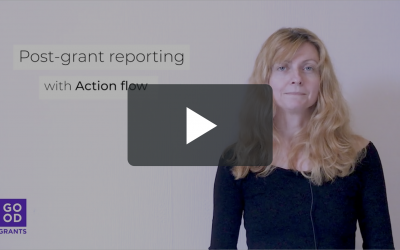 Feature focus – Post-grant reporting with Action flow